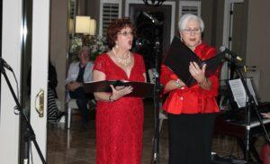 Patti Graetz and Jane Brambilla